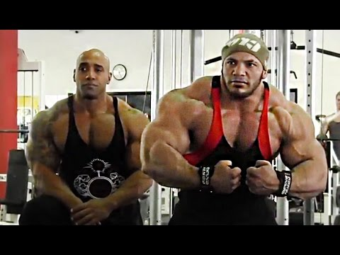 300lbs Giant Big Ramy Train Chest For MASS with Dennis James