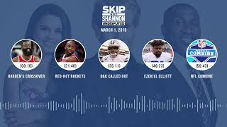 UNDISPUTED Audio Podcast (3.1.18) with Skip Bayless, Shannon Sharpe, Joy Taylor   UNDISPUTED thumbnail