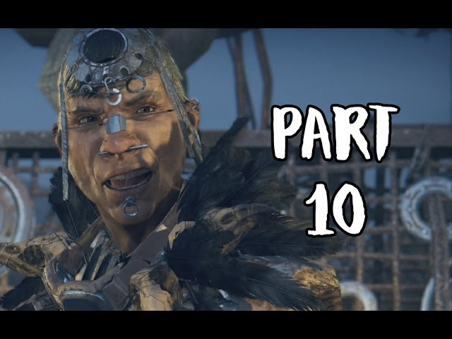 Mad Max Walkthrough Gameplay Part 10 - Reduce Threat In Pink Eyes Territory