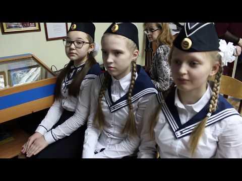 Репортаж с открытия Клуба юных моряков в школе №86 Заволжского района г.Ульяновска.