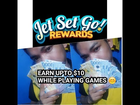 """JET SET GO """"EARN $10 TO $50 WHILE PLAYING GAMES 😊"""