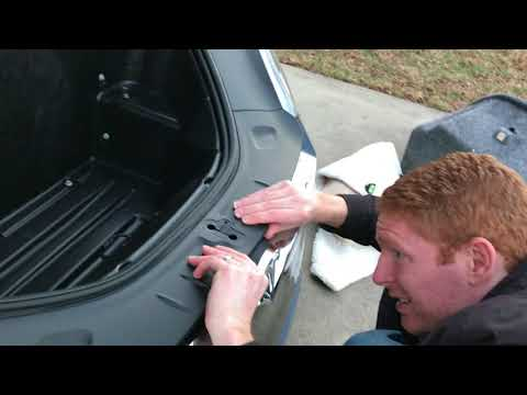 Tesla Model S refresh HEPA filter installation