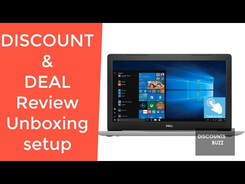 Dell Inspiron 15 5000 Laptop Computer Dell I5575 REVIEW DEAL DISCOUNT SALE UNBOXING SETUP