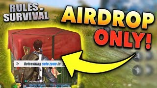 Air Drop Challenge!! Rules of Survival