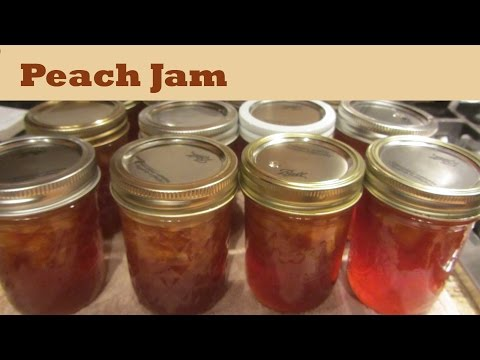 How to Make Peach Jam Fruit Jam Preserves