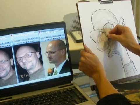Caricaturist Mac Garcia #3