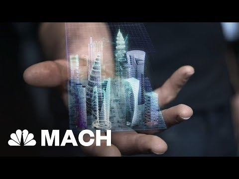 Holographic Augmented Reality Might Take Off In 2018, When Did Holography Arrive? | Mach | NBC News