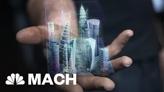 Holographic Augmented Reality Might Take Off In 2018 When Did Holography Arrive Mach Nbc News