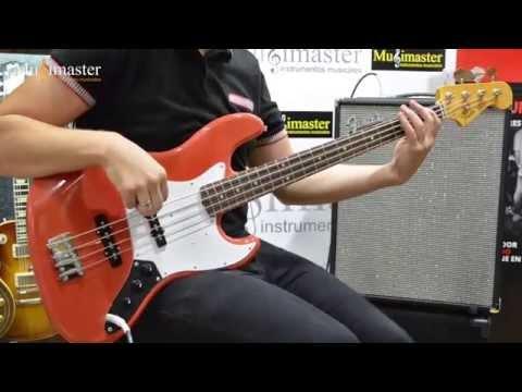 VENDIDO - FENDER JAZZ BASS SPECIAL JAPAN + RUMBLE 200