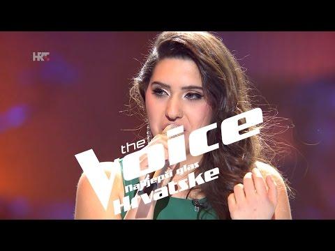"""Ivona Šimunić: """"Un-Break My Heart"""" - The Voice of Croatia - Season2 - Knockout 2"""