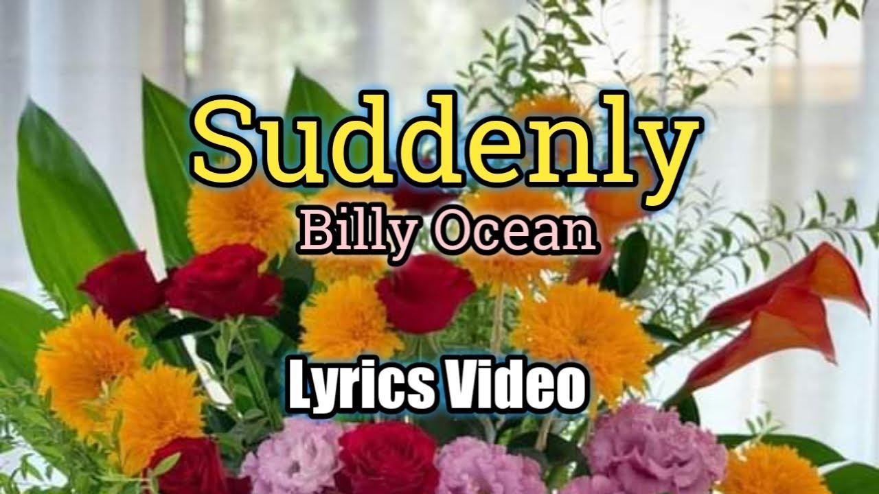 Download Suddenly (Lyrics Video) - Billy Ocean