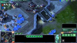 X194 - Starcraft 2 - Peanut (Terran) vs. Leeches (Protoss) on Metalopolis (Part 1/2)