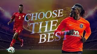 Asamoah Gyan vs Emmanuel Adebayor - Who is the better striker