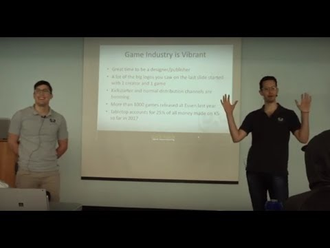 """A Crash Course in Game Manufacturing"" with Ben Rosset and Alex Corrao, Panda Game Manufacturing"