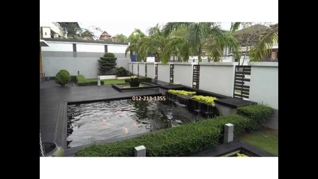 Bungalow i for sale in bukit jelutong shah alam selangor for House garden design in malaysia