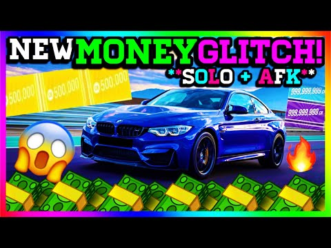 ** NEW SOLO AFK MONEY GLITCH ** Forza horizon 4 money glitch ( Unlimited Cr, Influence, Wheelspins )