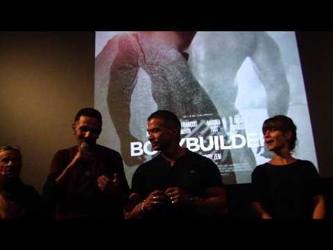 Avant-première de Bodybuilder, avec Roschdy Zem et Marina Foïs