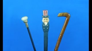 Cane and Walking Stick Display Stands
