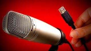 Samson C01U Pro USB Condenser Microphone Review