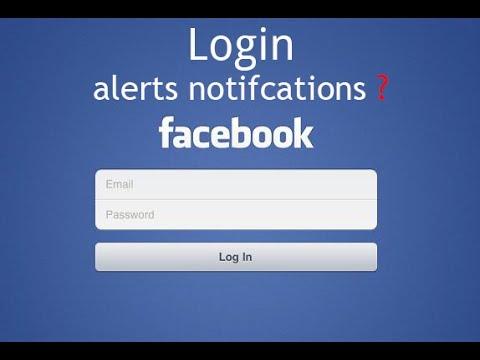Facebook Login Alerts Mobile Number or Email Notifications (BANGLA
