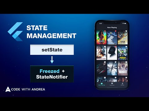 Flutter State Management: Going from setState to Freezed & StateNotifier with Provider