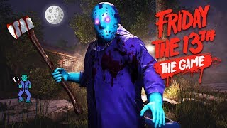 NEW JASON DLC!! (Friday the 13th Game)