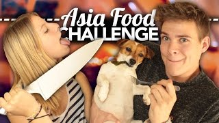 ASIA FOOD CHALLENGE - Wir kochen meinen Hund! | Joey's Jungle