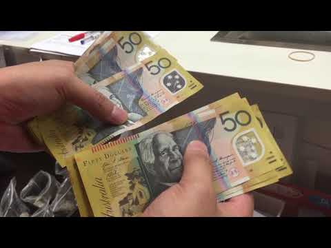 Count AUD Notes