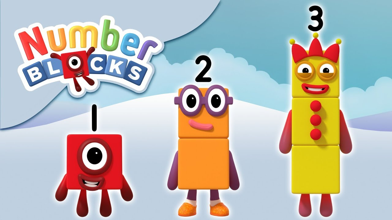 Numberblocks - Counting 1, 2, 3 | Learn to Count - YouTube