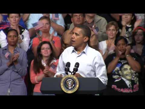 President Obama Talks Health Care in Minneapolis