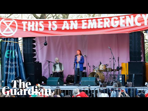 The Greta Thunberg effect: her visit to London in 2 minutes