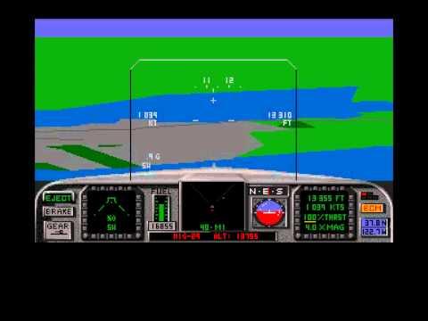TRISTAR Retro Gaming - AMIGA - F-18 Interceptor Complete - HQ Capture.