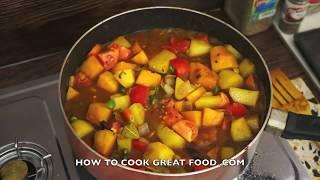 Potato & Pumpkin Curry Recipe Vegan Indian Cooking