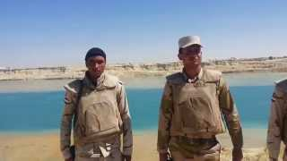 See the hands of the Egyptian army