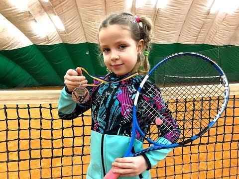 Большой теннис дети Турнир 50+ Orange Ball SMASH Кувшинова Елена 6 лет   Лучшие теннисные розыгрыши