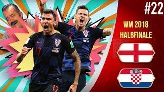 WM 2018 │KROATIEN GEGEN ENGLAND │Folge 22