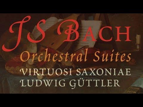 J.S. Bach: Orchestral Suites No.1 - No.4