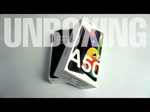 PARAH!!! Unboxing Dan Review Samsung Galaxy A50s Indonesia
