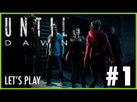 Until Dawn | Let's Play #1 | Jota Delgado