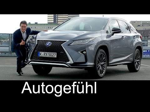 Lexus RX 450h F-Sport FULL REVIEW test driven all-new gen Hy