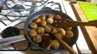Как готовить мясные шарики из говяжьего фарша
