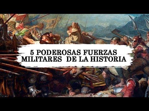 5 Poderosas fuerzas militares  de la historia