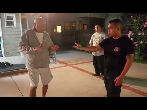 Sifu James Ibrao Tai Chi class