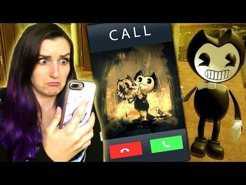 BENDY CALLED ME?!   Bendy And The Ink Machine Rip-Off App Games