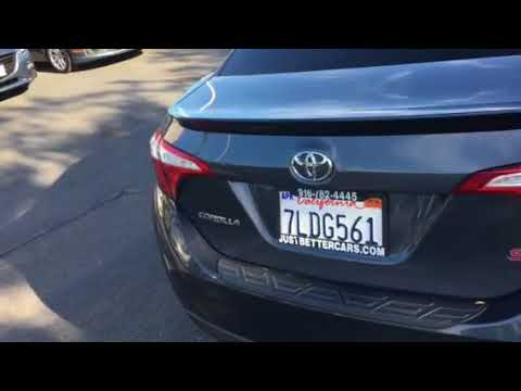 Just Better Cars >> Stk 548j 2015 Toyota Corolla S Just Better Cars Just Better Cars