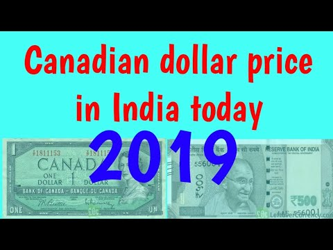 Canadian Dollar Rate In India Today Ll Cad Vs Inr Ll Cad Vs Indian Rupee