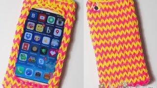 Поделки из резинок - чехлы из резинок для телефона, смартфона и айфона