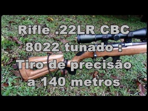 Rifle .22LR  CBC 8022: Tiro a longa distância