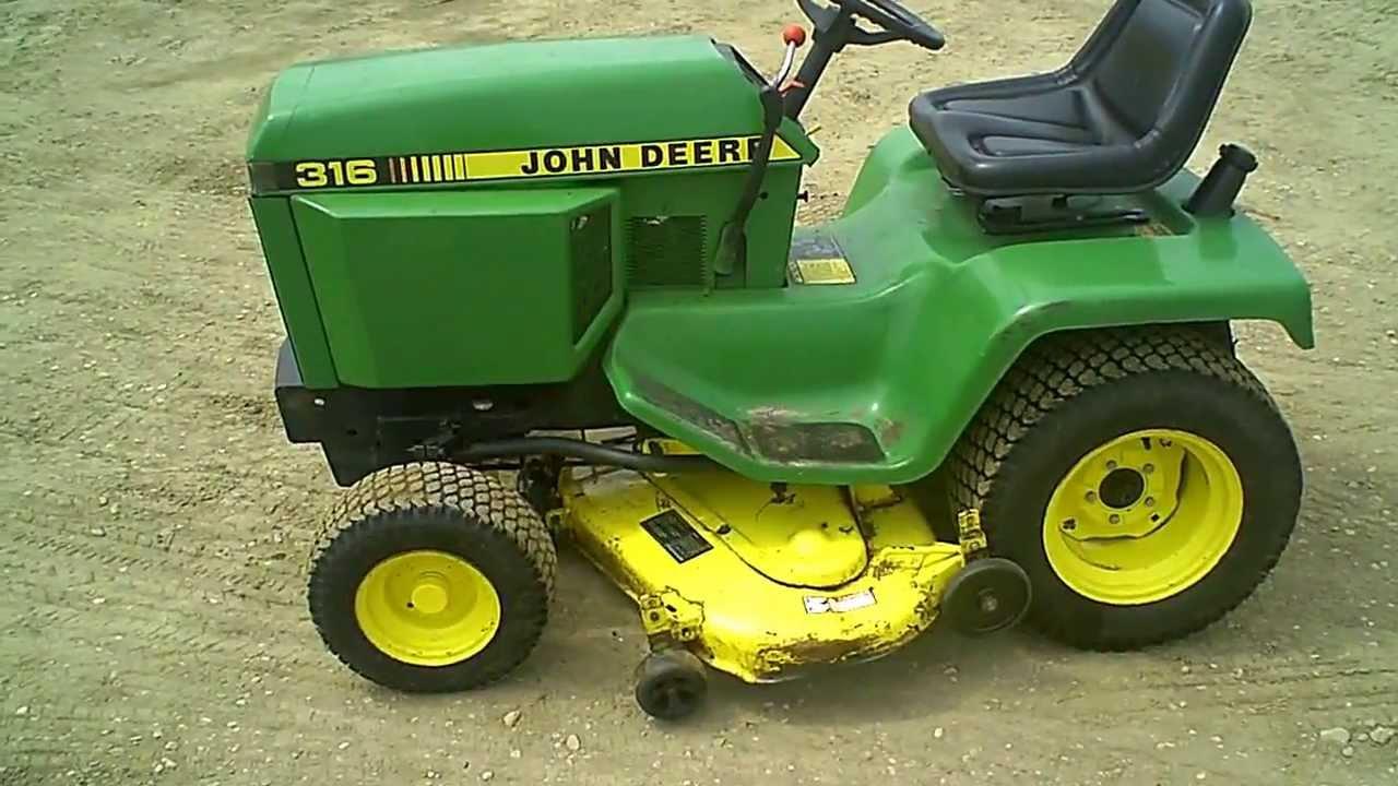 Garden Tractor Without Mower Deck : For sale clean john deere lawn garden tractor w