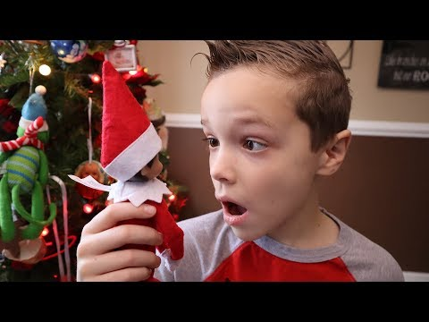 [FUNNY VIDEO] Nerf Life Lessons:  Don\'t Touch Elf on the Shelf! (FAMILY VLOGS)